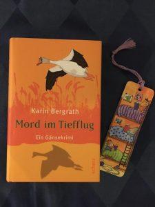 Buchcover Mord im Tiefflug von Karin Bergrath