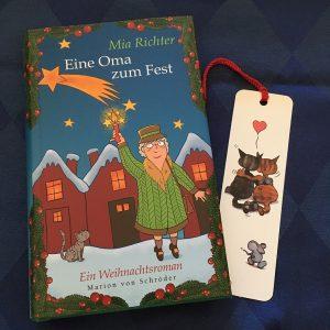 Buchcover Eine Oma zum Fest von Mia Richter