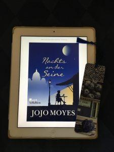 eBookcover Nachts an der Seine von Jojo Moyes