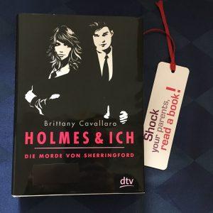 Buchcover Holmes und Ich - Die Morde von Sherringford von Brittany Cavallaro