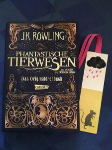 Buchcover Phantastische Tierwesen und wo sie zu finden sind von J.K. Rowling