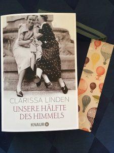 Buchcover Unsere Hälfte des Himmels von Clarissa Linden