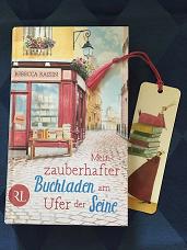 Buchcover Mein zauberhafter Buchladen am Ufer der Seine von Rebecca Raisin