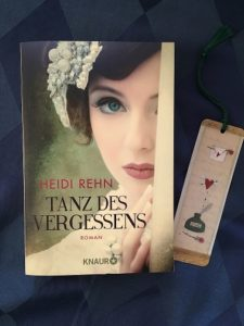 Buchcover Tanz des Vergessens von Heidi Rehn