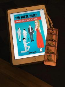 E-Book Cover 100 miese Dates und die Suche nach der Liebe von Nadine Kretz