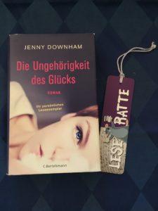 Buchcover Die Ungehörigkeit des Glücks von Jenny Downham