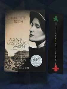 Buchcover Als wir unsterblich waren von Charlotte Roth