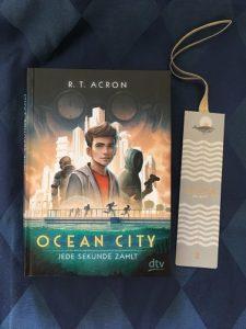 Buchcover Ocean City Jede Sekunde zählt von R.T.Acron