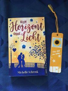 Buchcover Kein Horizont ohne Licht von Michelle Schrenk