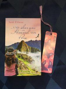 Buchcover ...und über uns der Himmel von Peru von Jani Friese