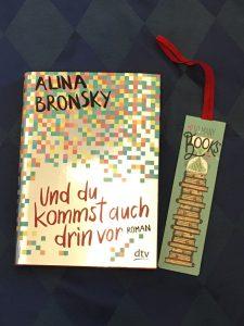 Buchcover Und du kommst auch drin vor von Alina Bronsky