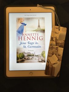 E-Book Cover Jene Tage in St. Germain von Annette Hennig