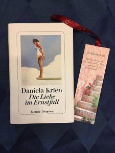 Buchcover Die Liebe im Ernstfall von Daniela Krien