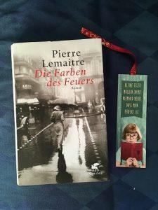 Buchcover Die Farben des Feuers von Pierre Lemaitre