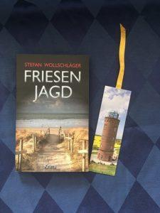 Buchcover Friesenjagd von Stefan Wollschläger