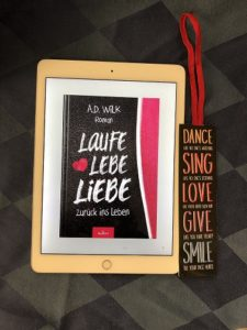 E-Book Cover Laufe Lebe Liebe