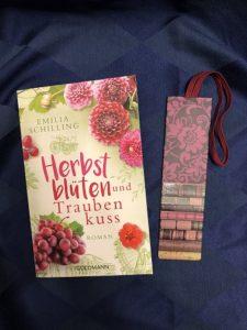 Buchcover Herbstblüten und Traubenkuss von Emilia Schilling