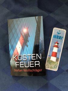 Buchcover Küstenfeuer von Stefan Wollschläger