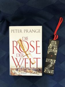 Buchcover Die Rose der Welt von Peter Prange