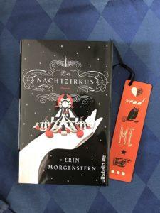 Buchcover Der Nachtzirkus von Erin Morgenstern