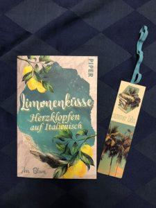Buchcover Limonenküsse von Ava Blum