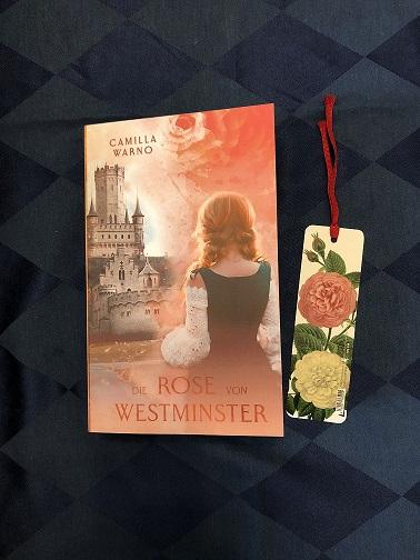 Buchcover Die Rose von Westminster von Camilla Warno