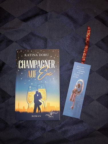 Buchcover Champagner auf Ex von Katina Doru