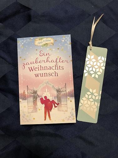 Buchcover Ein zauberhafter Weihnachtswunsch von Jani Friese