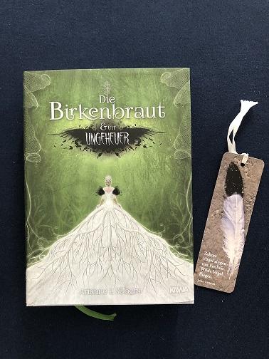Buchcover Die Birkenbraut und ihr Ungeheuer von Arianne L. Silbers